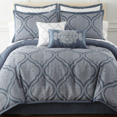 jcpenney.com | Royal Velvet Mona 8-pc. Comforter Set & Accessories