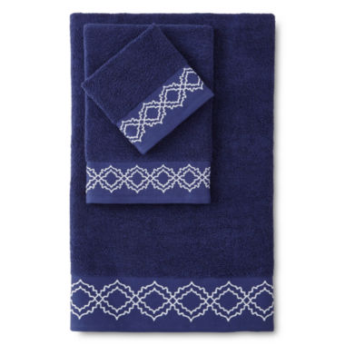 jcpenney.com | Eva Longoria Adana Bath Towel Collection