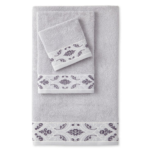 Eva Longoria Solana Bath Towel Collection