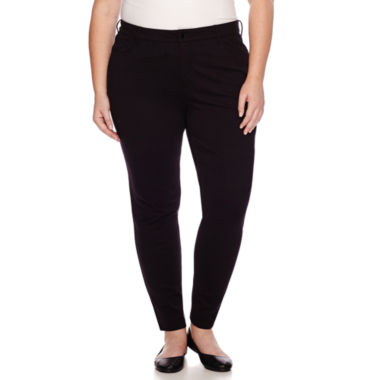 jcpenney.com | Liz Claiborne® Secretly Slender Pants - Plus