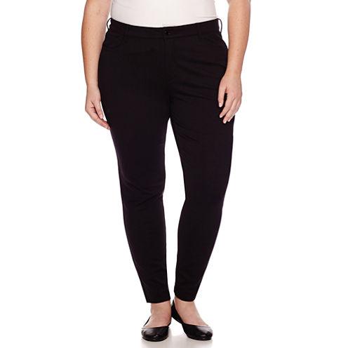 Liz Claiborne® Secretly Slender Pants - Plus