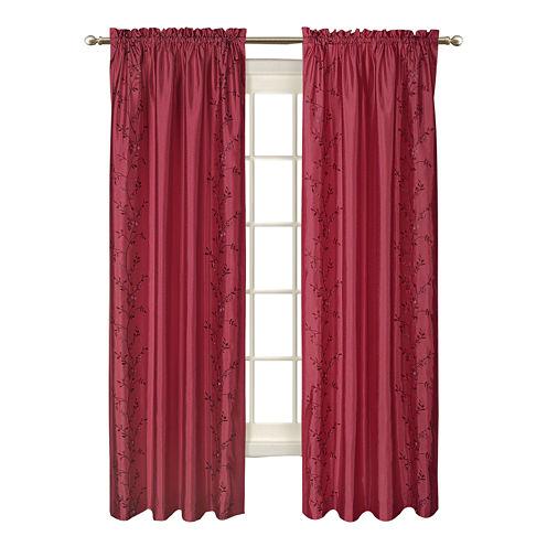 United Curtain Co. Addison Rod-Pocket Curtain Panel