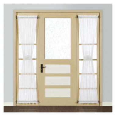 jcpenney.com | United Curtain Co. Monte Carlo Rod-Pocket Sidelight Curtain