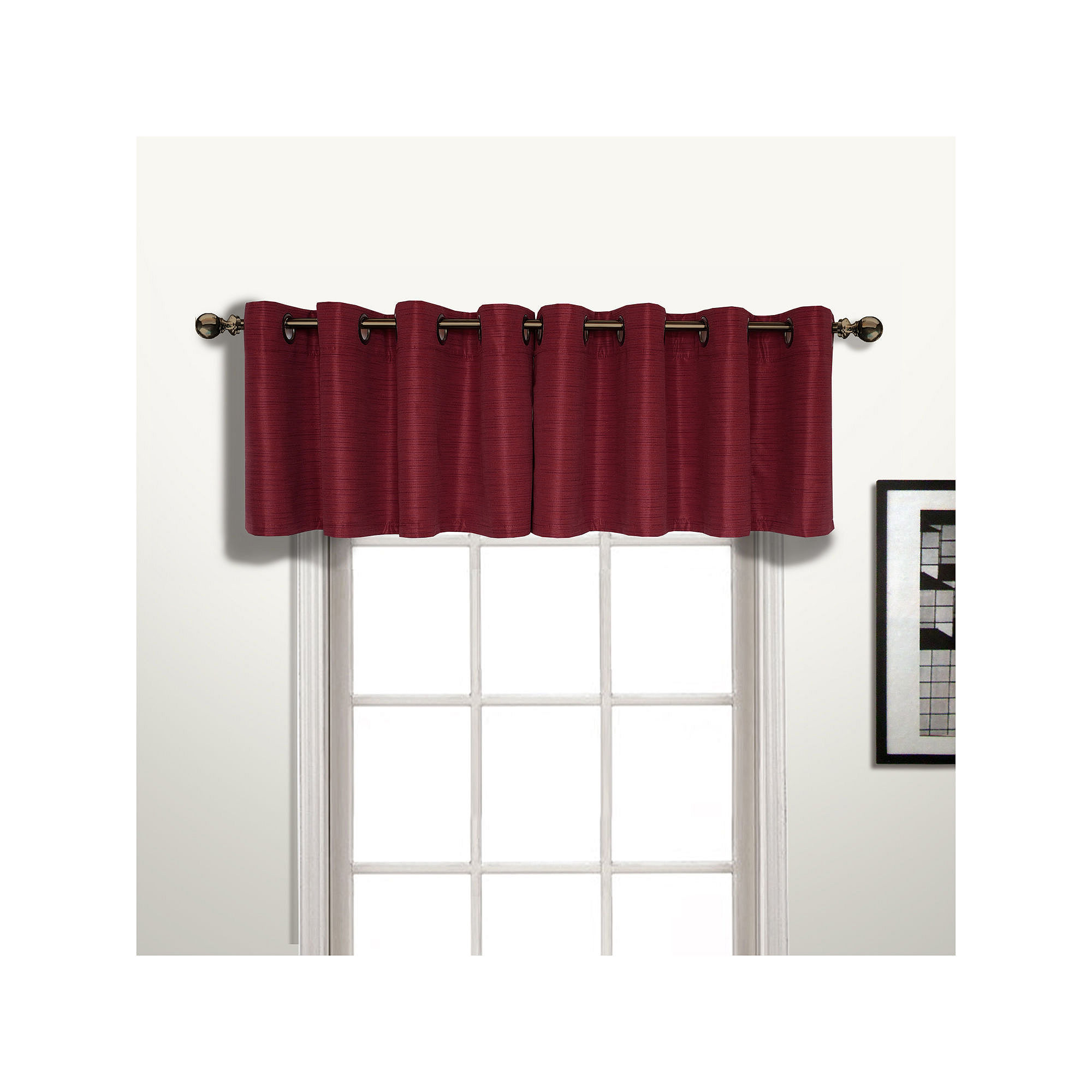 Grommet Top Curtains Valance Rod Pocket Grommet Top Tab Top Double Pleated One Panel Curt