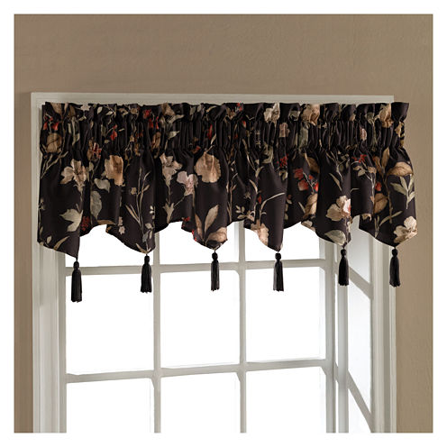 United Curtain Co. Charlotte Rod-Pocket Ascot Valance