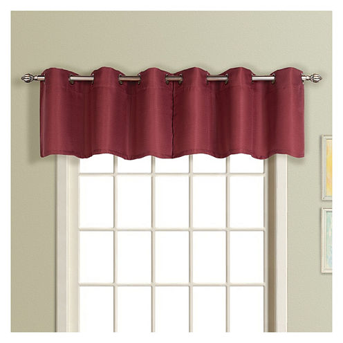 United Curtain Co. Mansfield Grommet-Top Valance