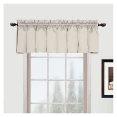 jcpenney.com | United Curtain Co. Metro Rod-Pocket Valance