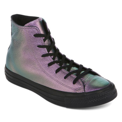 08d3347d8b5f01 Converse Chuck Taylor All Star High Top Leather Womens Sneakers ...