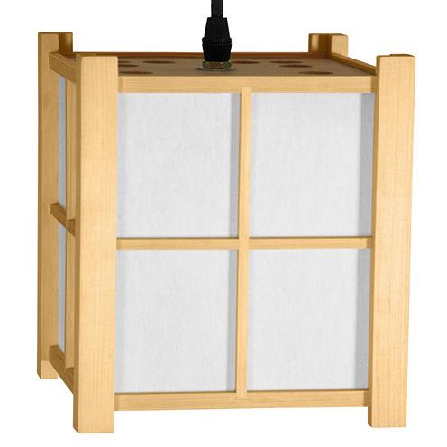"""Oriental Furniture 7.5"""" Boku Japanese Hanging Lantern"""