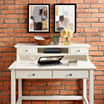 Campbell Writing Desk and Desk Hutch Collection Hutch