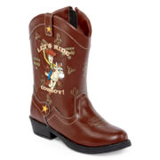 Toy Story™ Boys Western Boots - Toddler