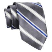 Stafford® Ryder Stripe Silk Tie