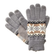 Isotoner® smarTouch Knit Gloves