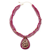 Mixit™ Gold-Tone Berry Shell Pendant Necklace