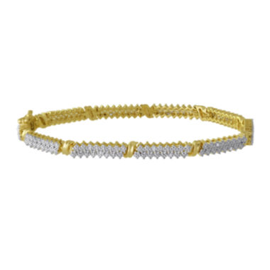 jcpenney.com | 1/10 CT. T.W. Diamond Double-Row Tennis Bracelet