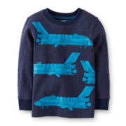 Carter's® Long-Sleeve Graphic Tee – Boys 5 -7