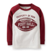 Carter's® Long-Sleeve Football Graphic Tee – Boys 5-7