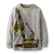Carter's® Long-Sleeve Crane Graphic Tee – Boys 5-7