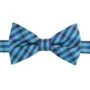 IZOD® Bleacher Plaid Pre-Tied Bow Tie