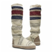 MUK LUKS® Angie Womens Tall Boot Slippers