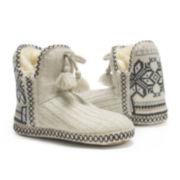 MUK LUKS® Amira Womens Boot Slippers