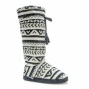 MUK LUKS® Womens Tall Grommet Boot Slippers
