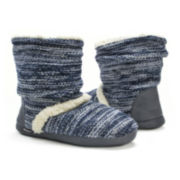MUK LUKS® Womens Scrunch Boot Slippers