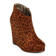 Michael Antonio Cerras Wedge Womens Ankle Booties