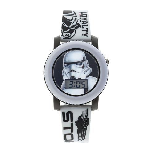 Star Wars® Stormtrooper Kids Flashing and Sound Digital Watch