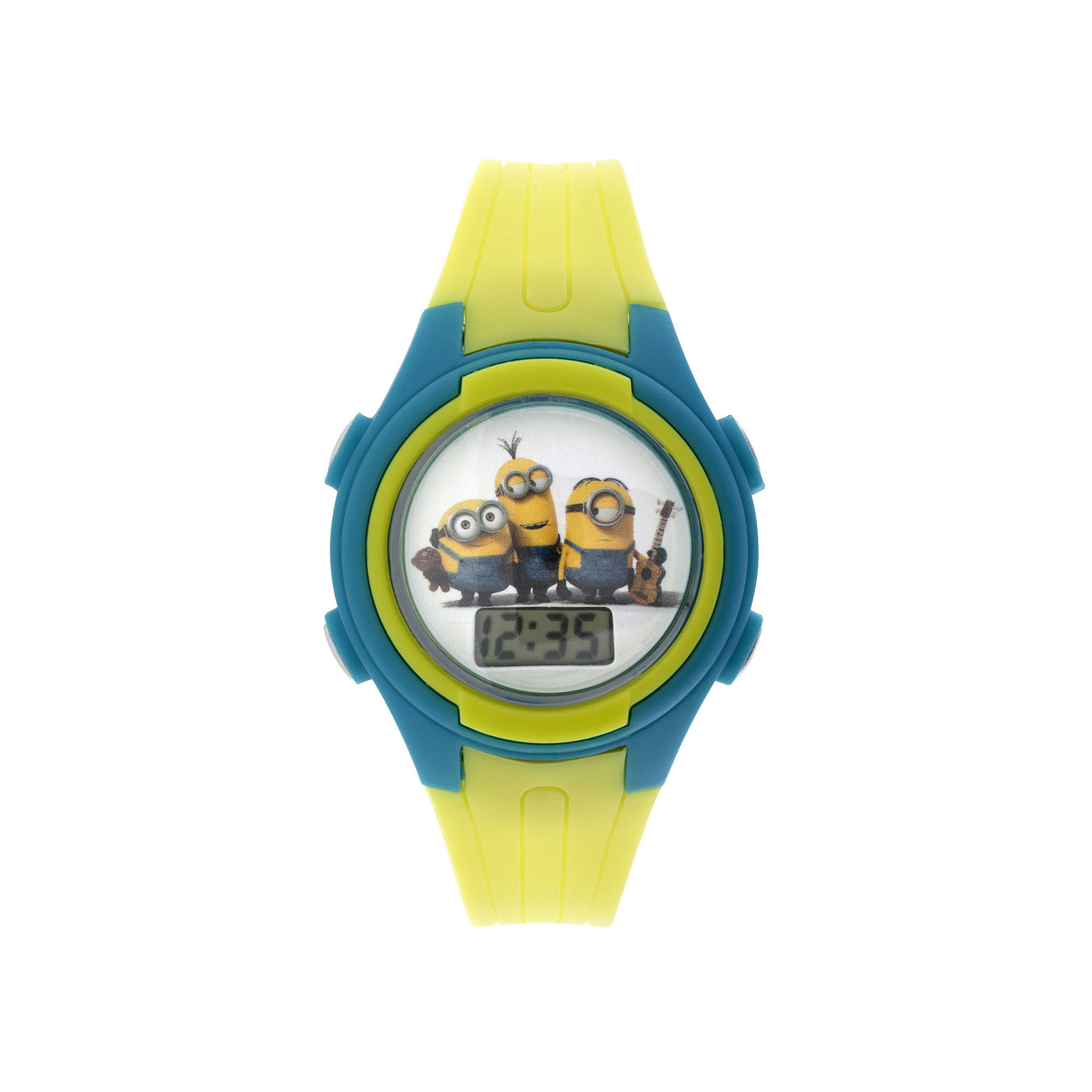 Despicable Me Minions Kids Yellow Plastic Strap Digital Watch