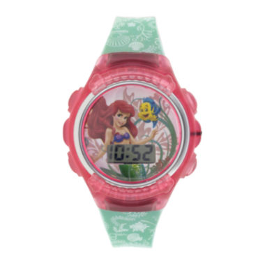 jcpenney.com | Disney The Little Mermaid Kids Flashing Digital Watch