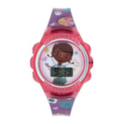 Disney Doc McStuffins Kids Flashing Digital Watch
