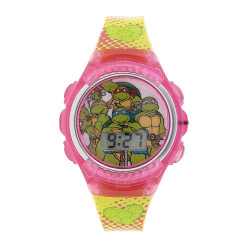 Teenage Mutant Ninja Turtles Kids Flashing Digital Watch