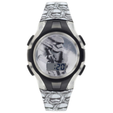 jcpenney.com | Star Wars® Stormtrooper Kids Flashing Digital Watch