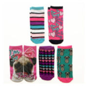 Womens 5-pk. Photoreal Low-Cut Socks
