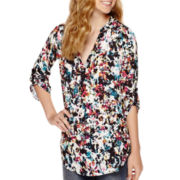 Decree® Roll Tab Blouse