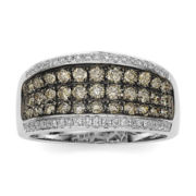 CLOSEOUT! Le Vian Chocolatier® 1¼ CT. T.W. White and Chocolate Diamond® Ring