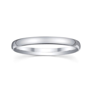 jcpenney.com | Personalized 2mm Comfort Fit Domed Sterling Silver Wedding Band