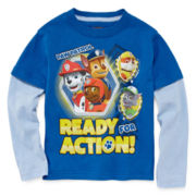Paw Patrol Long-Sleeve Tee - Toddler Boys 2t-5t