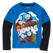 Thomas Long-Sleeve Tee - Toddler Boys 2t-5t