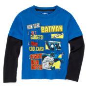 Batman Long-Sleeve Tee - Toddler Boys 2t-5t