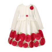 American Princess Dress and Cardigan - Preschool Girls 4-6x