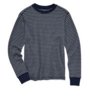 Arizona Striped Thermal Tee - Boys 8-20 and Husky