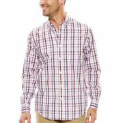 Dockers® Long-Sleeve Big Roadmap Button-Front Shirt