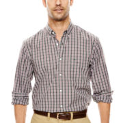 Dockers® Long-Sleeve Small Plaid Shirt
