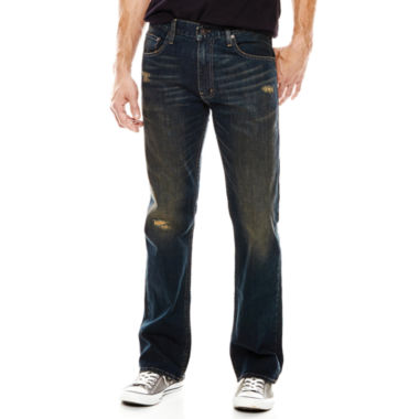jcpenney.com | Arizona Flex Original Bootcut Destruction Jeans