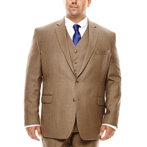Stafford® Travel Sharkskin Suit Jacket - Big & Tall