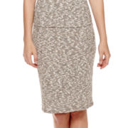Olsenboye® Ribbed Pencil Skirt