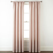 Liz Claiborne® Giselle Solid Rod-Pocket Curtain Panel