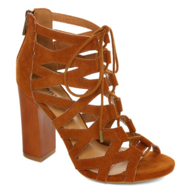 jcpenney.com | Bamboo Embark Lace-Up Sandals